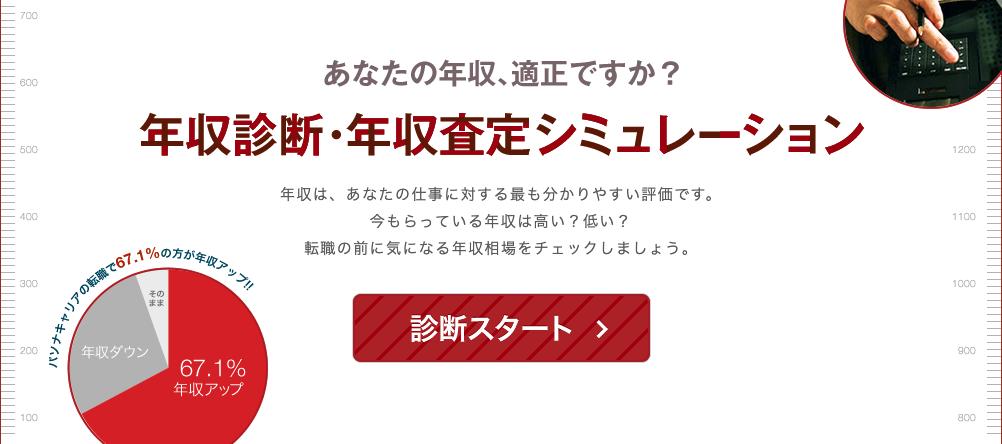 パソナキャリア年収査定