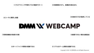 DMM-web-camp8つの特徴